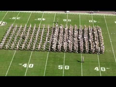 Fightin' Texas Aggie Band Halftime Drill - Auburn Game at Kyle Field  - 11/4/17