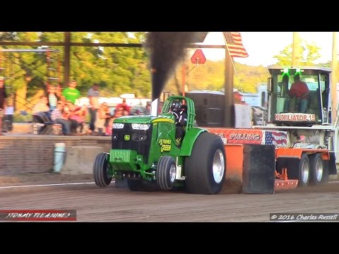 Tractor Pulls! 2016 Allegan County Fair Pull! NTPA