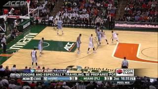 North Carolina vs Miami | 2014-15 ACC Men