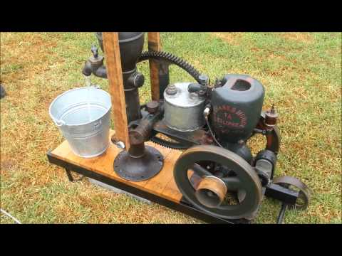 """Union Jubilee wood lathe powered by Lister """"D"""" stationary engine. Part 1 The setup from YouTube · Duration:  5 minutes 12 seconds"""
