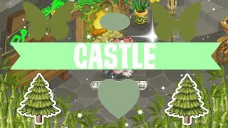 Animal jam Speed decorate #3// Castle Den!