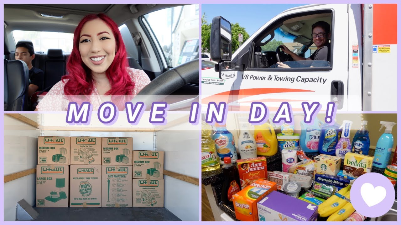 VLOG: MOVING OUT DAY + First Apartment Target Haul   Romina Vasquez