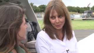 Taking to the skies with Carol Vorderman