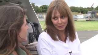 Taking to the skies with Carol Vorderman