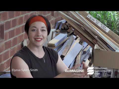 ReImagine Sculpture Competition - Meet Artist Elyssa Sykes-Smith