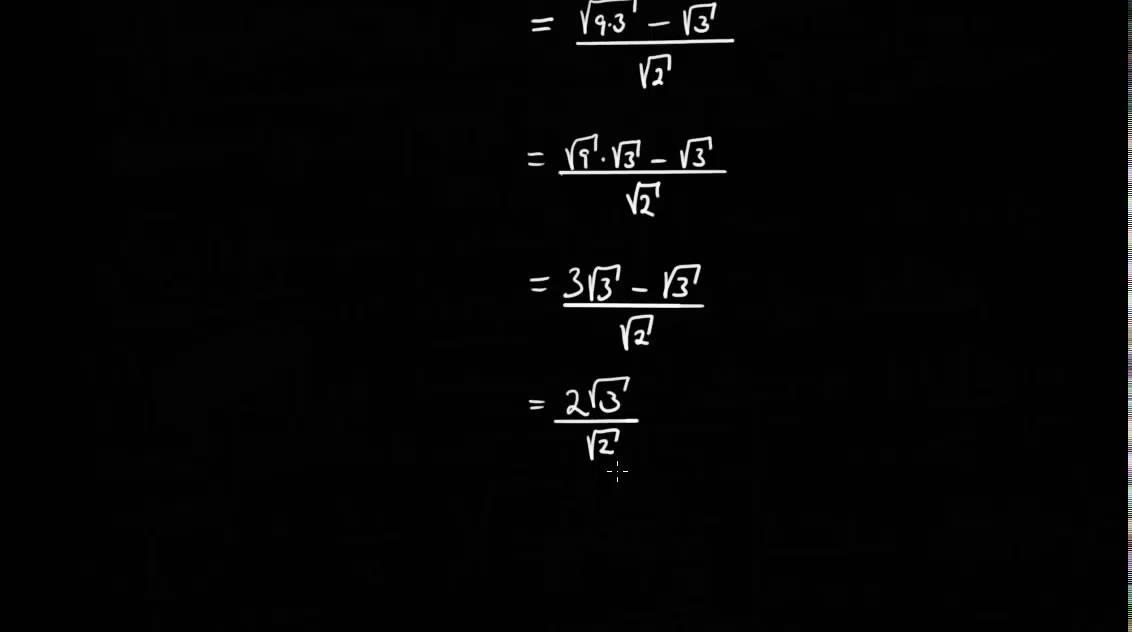 Σ00184: Regning med kvadratrøtter - Gjennomgang av krevende oppgave