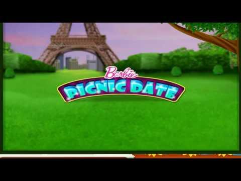 Barbie  amp  Ken Games for kids Barbie Picnic Date