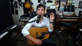 Recording Acoustic Guitar - Changing Tone the Cheap Way