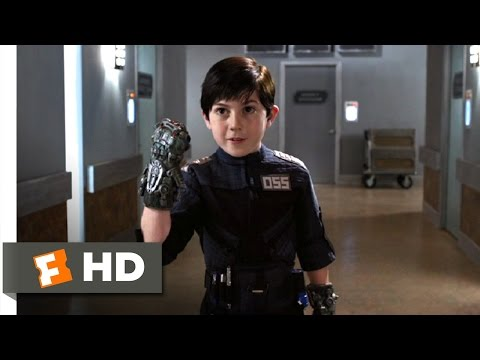 Spy Kids 4 (11/11) Movie CLIP - Hammer Hands and Jet Packs (2011) HD