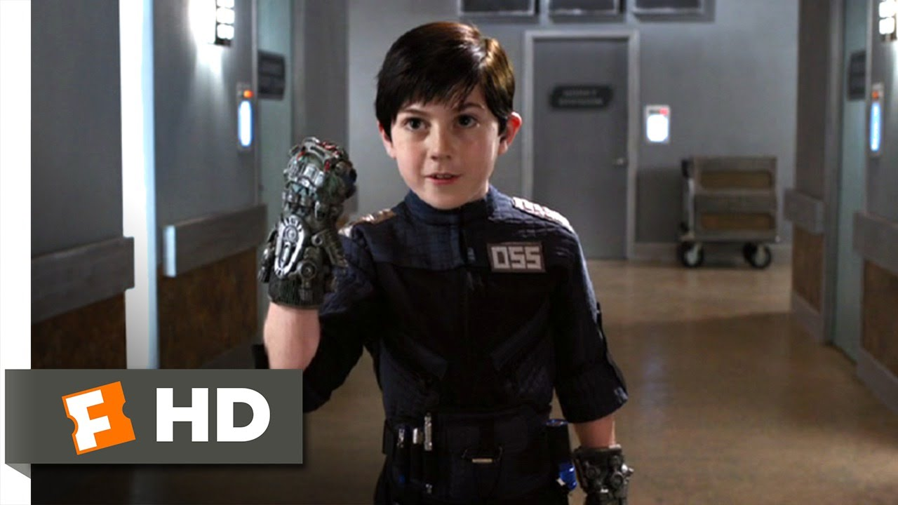 Spy Kids 4 (11/11) Movie CLIP - Hammer Hands and Jet Packs ...