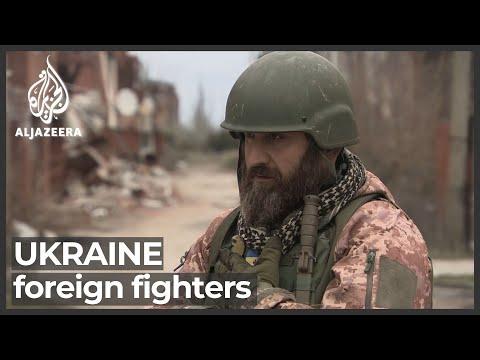 Ukraine conflict: Georgian volunteer 'defending freedom' on frontline