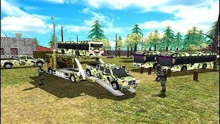 Offroad US Army Transporter Sim Uphill Driving Game