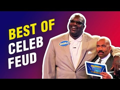 All-time funniest Celebrity Family Feud moments with Steve Harvey!