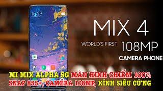 y l mi mix alpha 5g mn hnh chim 100 knh siu cng cu hnh cc cao