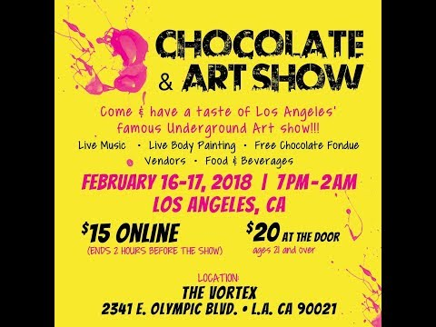 Chocolate and Art Paintings