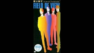 FIELD OF VIEW - 青い傘で