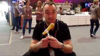 ESCKAZ in Vienna: Golden Microphone for our Golden boy Mike!