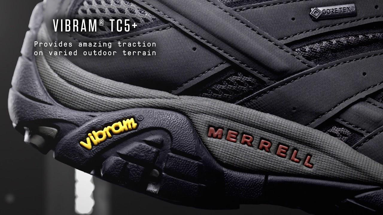 6dcfb227934 Merrell Men's Moab 2 Low GORE-TEX Walking Shoes