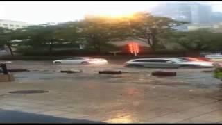 13 06 18 mpg Ураган с градом в Циндао и Зыбо