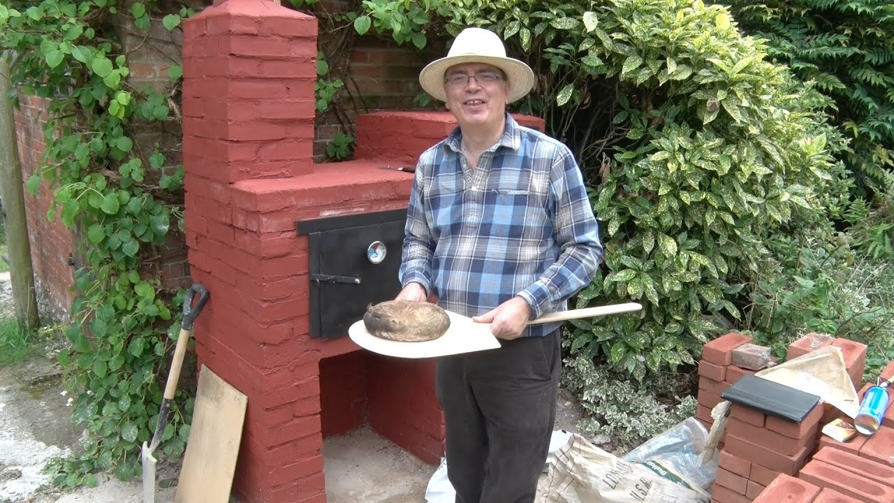 building a wood fired bread oven youtube