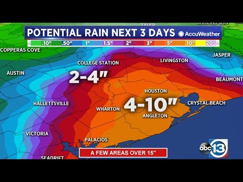 Tropical Depression Imelda Continuous To Pound Southeast Texas