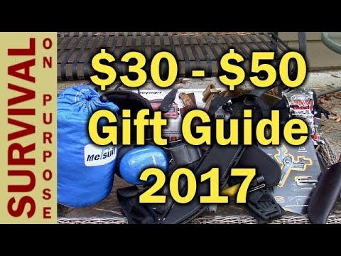 20 Gift Ideas Under $50 - Outdoor and Tactical Gift Ideas 2017