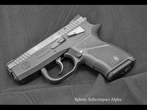 SPHINX SDP SUBCOMPACT BEST CONCEALED PROTECTION GUN EVER