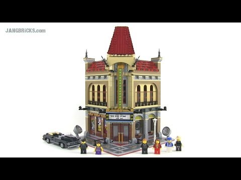 LEGO Creator Palace Cinema 10232 modular building Review!