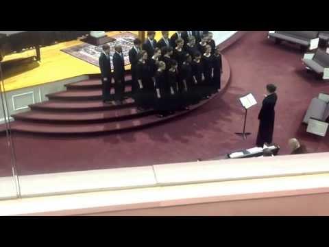 Aldersgate Christian Academy's high school choir.