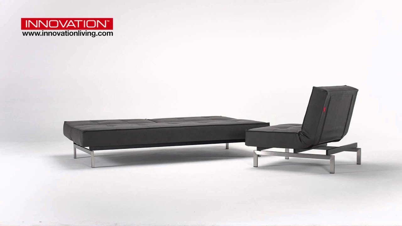 Futon Etage Splitback With Chair Stainless Steel 592
