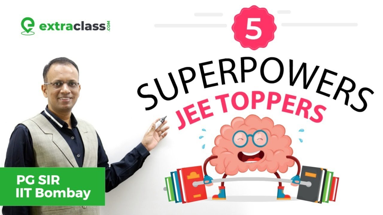 5 Super Powers of JEE Toppers || THE SECRETS of Problem Solving Habits    #Extraclass #JeeUnder1000