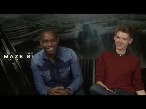The Maze Runner  Aml Ameen and Thomas BrodieSangster   Empire Magazine