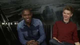 The Maze Runner - Aml Ameen and Thomas Brodie-Sangster interview | Empire Magazine