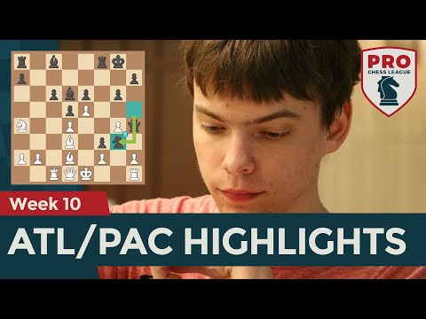 PRO Chess League Week 10 Atlantic/Pacific Highlights: Holt's Brilliancy