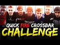 YOUTUBERS QUICK FIRE CROSSBAR CHALLENGE!