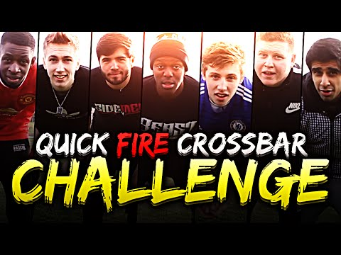 Thumbnail: YOUTUBERS QUICK FIRE CROSSBAR CHALLENGE!