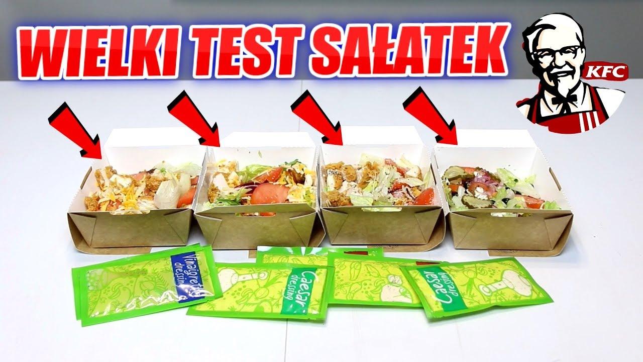 Wielki Test Salatek Z Kfc Ktora Najlepsza