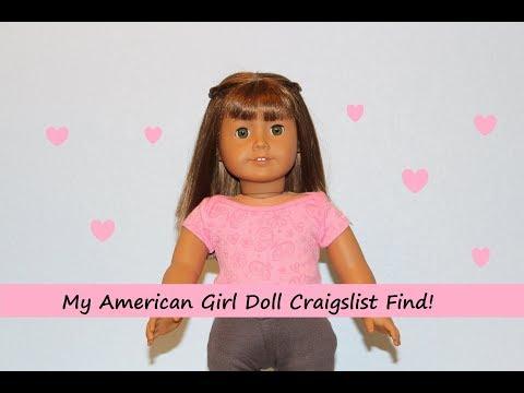 I Found An American Girl Doll On Craigslist!!!!