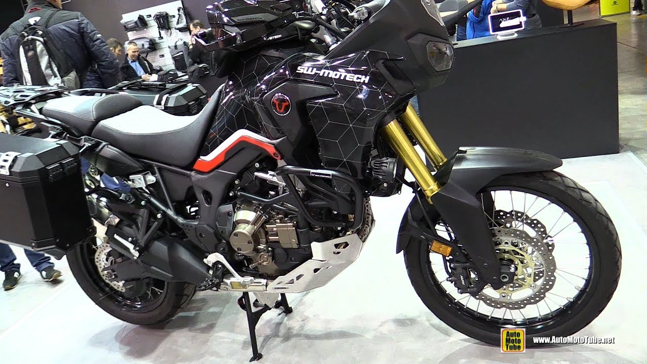 2018 honda africa twin sw motech customized walkaround. Black Bedroom Furniture Sets. Home Design Ideas