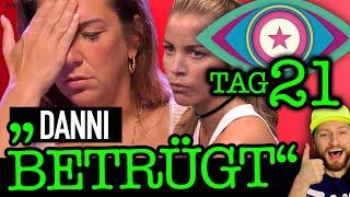 """Danni Büchner HINTERGEHT alle! Ina Aogo: """"Rafi ist schuld!"""" Promi Big Brother  2021 Folge 21"""
