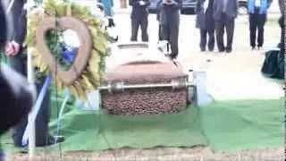 Grandma's burial day.
