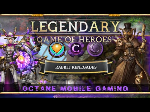 Legendary Game Of Heroes - Rabbit Renegades Possible Deck Combos