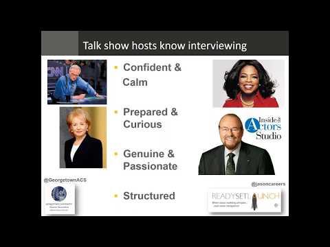 Interview Like a Talk Show Host