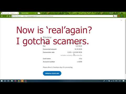 Paypal Exchange Conversion Rate Scam. Check Before Withdraw.