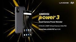 Quad Camera Power Monster UMIDIGI Power 3 is Here!
