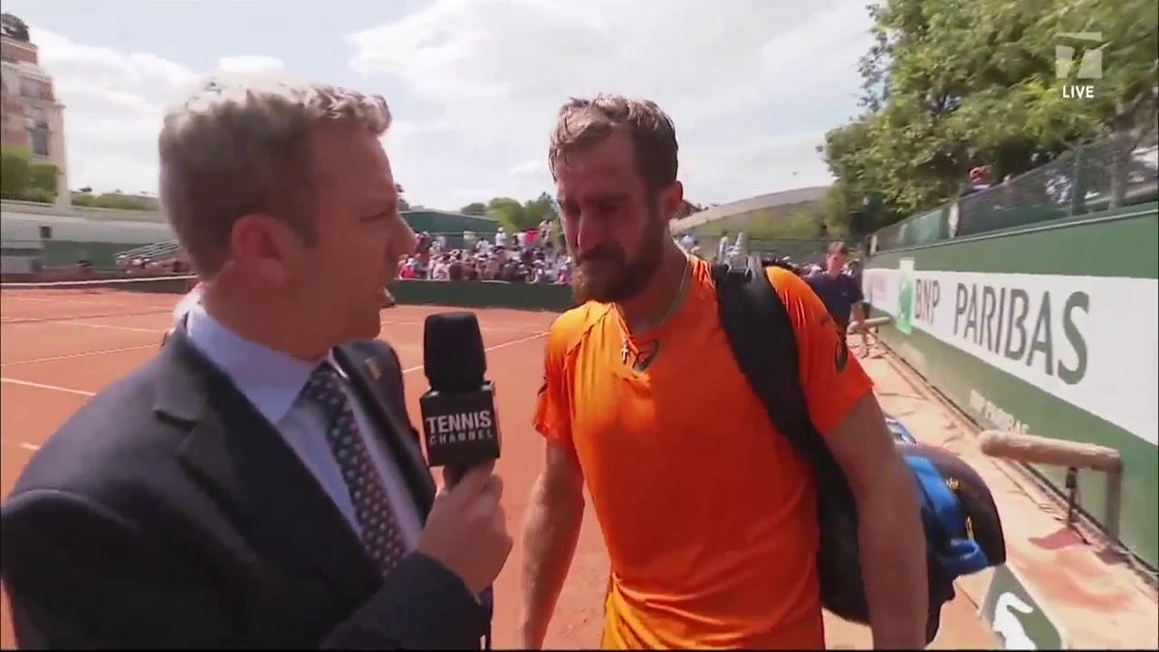 Emotional Steve Johnson Post Match Interview