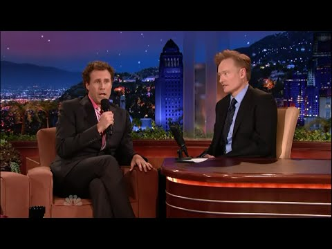 Will Ferrell Sings Conan a Song on his First Tonight Show 6/01/09