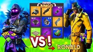 FORTNITE BINGO MET RONALD!! - Fortnite Playground (Nederlands)