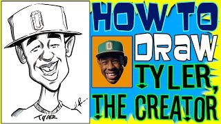 How To Draw A Quick Caricature Tyler The Creator