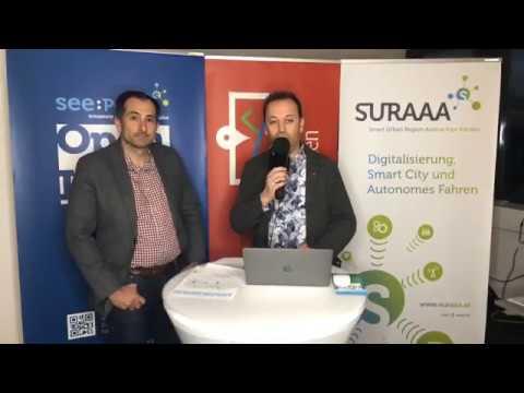 DI Emanuel Pirker | Gründer und Geschäftsführer der Stratodesk Software | lanmedia Business Talk